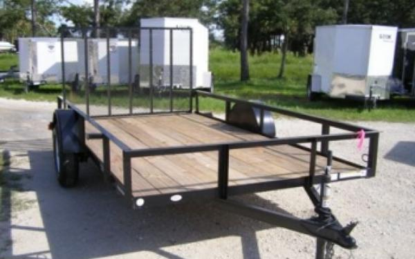 NEW 2107 Triple Crown Single Axle Utility Trailer