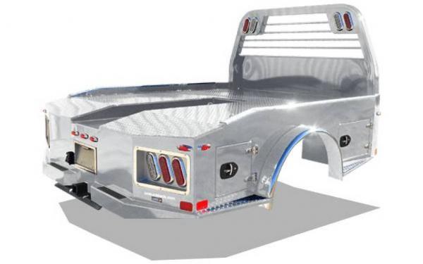 AL ER Aluminum Easy Rider Truck Bed