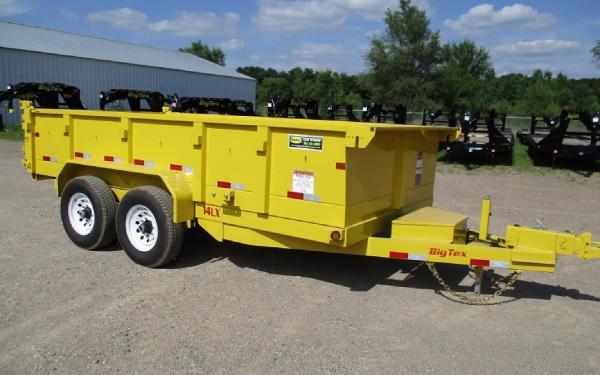 14LX-14' Big Tex Dump Trailer FOR RENT $100.00 Per Day