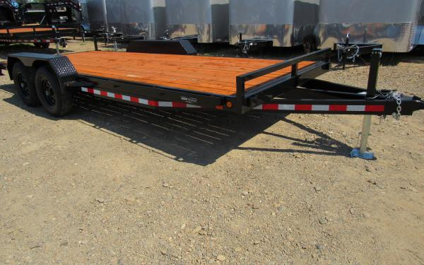 Iron Eagle 7'x18' 7K Car Hauler