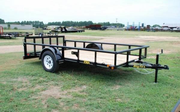 Big Tex Single Axle Utility Trailer