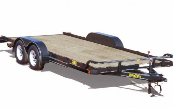 Tandem Axle Car Hauler Trailer