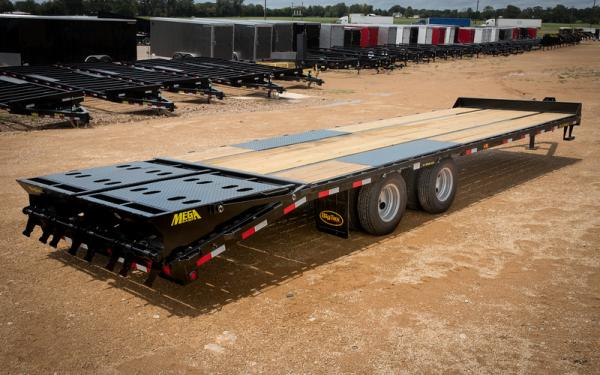 Big Tex 22PH-20BK+5 Pintle Hook Tandem Axle Trailer