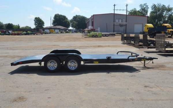 Tandem Axle Diamond Back Car Hauler