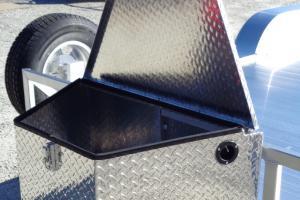 4000AP Aluminum Flat bed Trailer