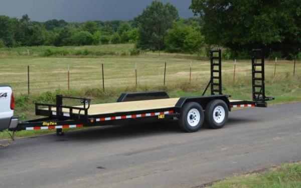 Big Tex 14ET-18BK Equipment Trailer