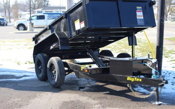70SR-10-5WDD 7K 5'X10' TANDEM AXLE, DOUBLE DOOR, SINGLE RAM DUMP TRAILER