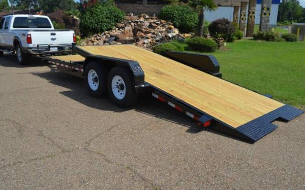 Big Tex 14TL-20BK Partial Tilt Equipment Trailer