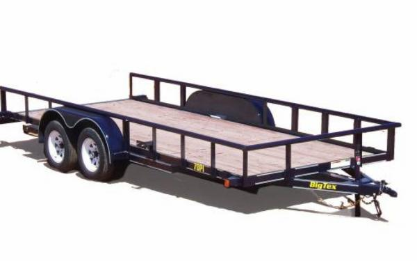 Big Tex Tandem Axle Pipe Utility Trailer