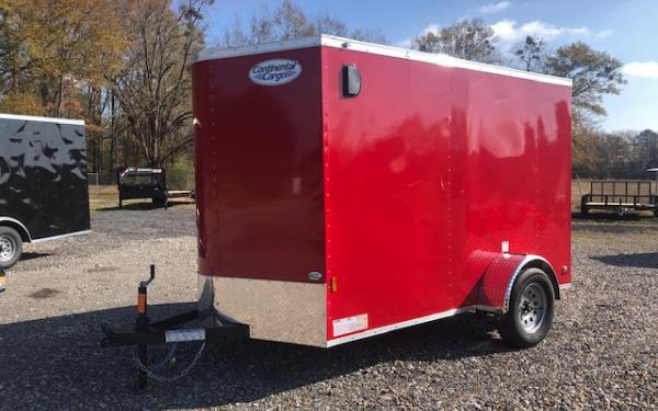 CONTINENTAL CARGO BY FOREST RIVER 6X10 SINGLE AXLE ENCLOSED CARGO TRAILER