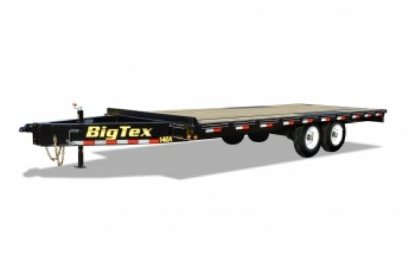 Big Tex 14OA-20BK8SIR Over the Axle Equipment Trailer
