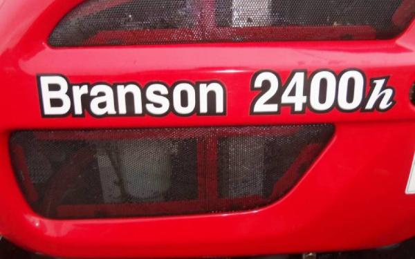 BRANSON 2400H w/loader | JC Tractor Repair & Restoration in