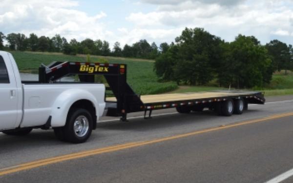 22GN Big Tex Tandem Dual Axle Gooseneck Trailer