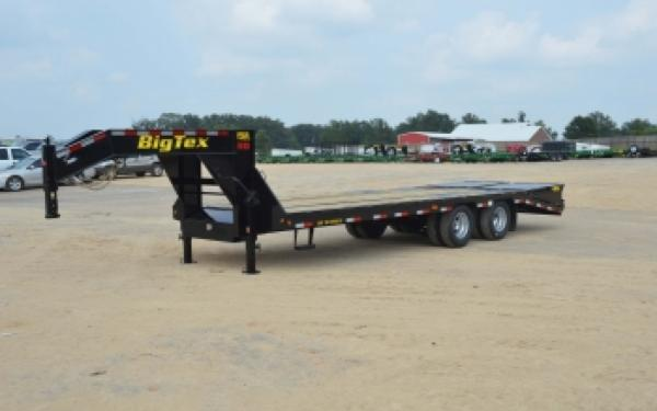 25GN Big Tex Dual Axle Trailer w/ Mega Ramps