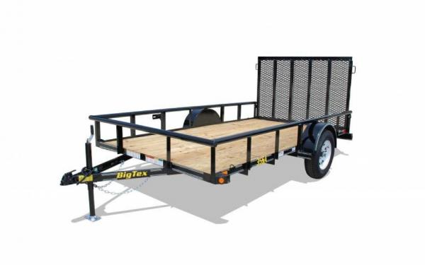 Big Tex Single Axle Utility Trailer