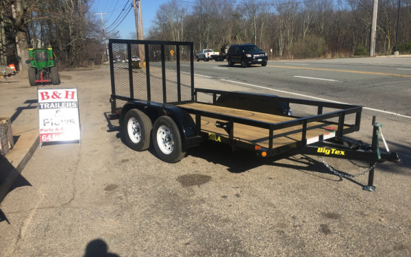 2018 Big Tex 50LA 77x12 Dual axle landscape trailer