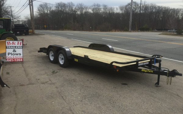 2018 Big Tex 70CH 18ft car hauler