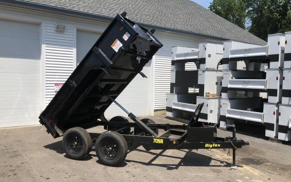 2019 Big Tex 70SR 5x10 Dump trailer
