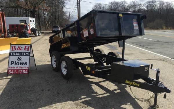 2018 Big Tex 70SR 5x10 Dump trailer