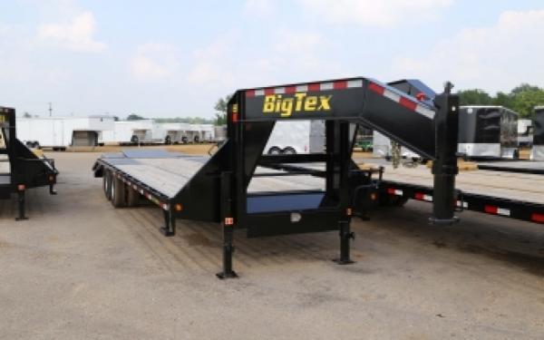 22GN Big Tex Tandem Dual Gooseneck w/ Center Pop Up