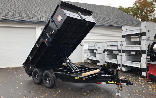2019 Big Tex 14LX 83x14 14000lb dump trailer
