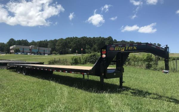 Big Tex 25GN 35'+5' MR Tandem Dual Axle Gooseneck (Hot-Shot Trailer )