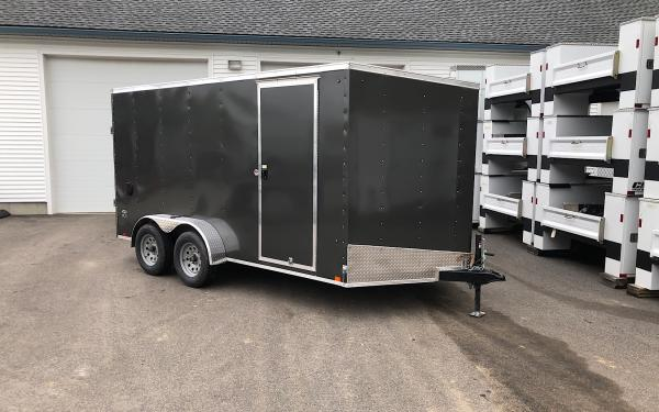 2019 Look STLC DLX 7x14 Ramp door