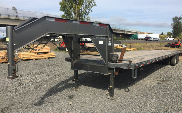 Elite Gooseneck 35' + 5' 24K with Electric over Hydraulic Brakes