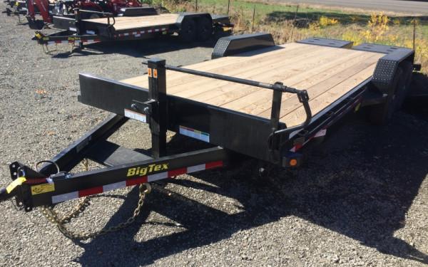 ON SALE! Big Tex 14ET 20' 14K Tandem Axle Equipment Trailer w/ Mega Ramps