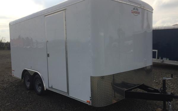 Cargo Mate BL816TA2 8-1/2' x 16' Tandem Axle Cargo Trailer