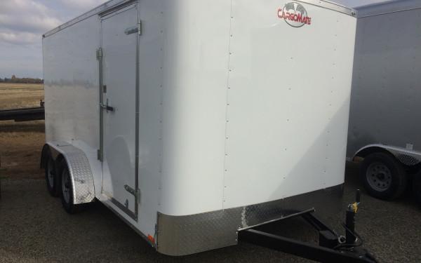 Cargo Mate CH714TA2 Challenger 7'x14' Cargo Trailer with Ramp Door