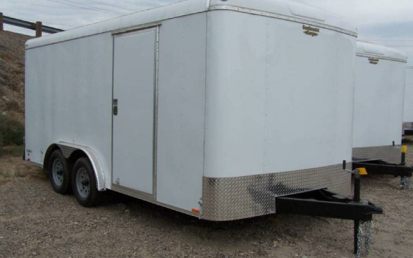 Continental Cargo TW816TA2 8' x 16' Tail Wind w/ Barn Doors