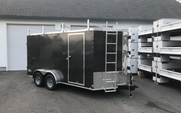 2019 Look Element SE 7x14 Barn doors Contractor package walk on roof