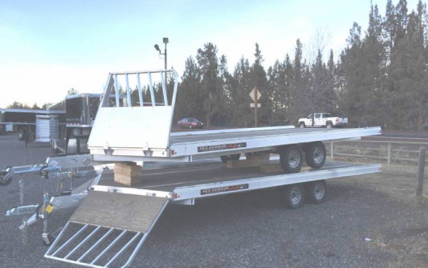 Aluma 8620-13 20' 4 Snowmobile Trailer