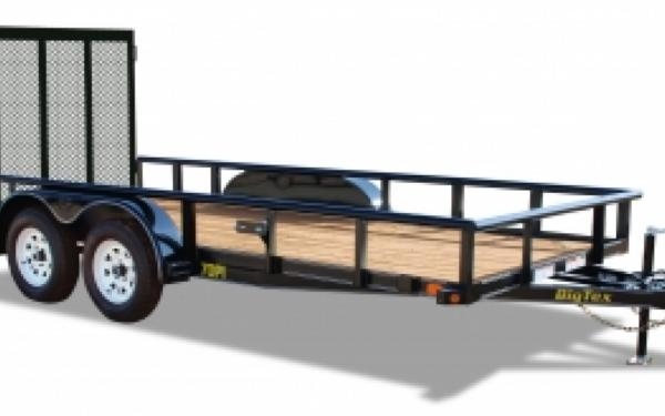 70PI Big Tex Pipe Utility Trailer