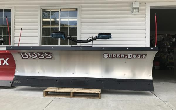 Boss Super-Duty Trip edge 9ft Stainless