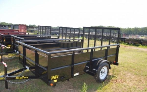 "Big Tex 35SV 77""x10' Vanguard Trailer"