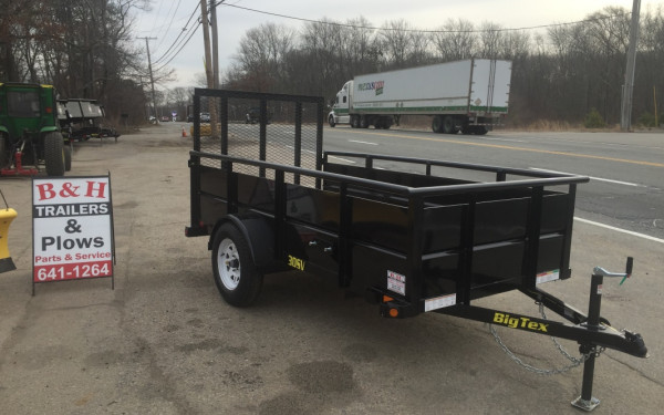 2019 Big Tex 30SV 5x10 landscape trailer w/ 24in solid sides