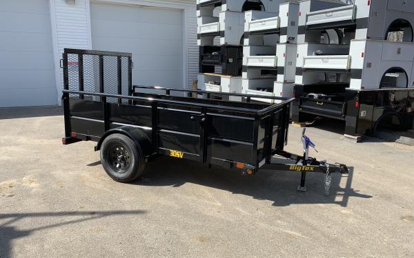 2020 Big Tex 30SV 5x10 landscape trailer w/ 24in solid sides