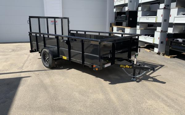 2019 Big Tex 35SV 77x12 24inch solid sides