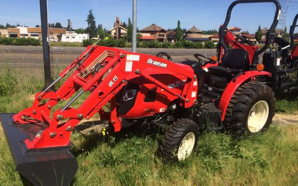 Branson 3515H Tractor with BL150 Front Loader