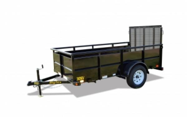 30SV 5'x8' Big Tex Single Axle Vanguard Trailer