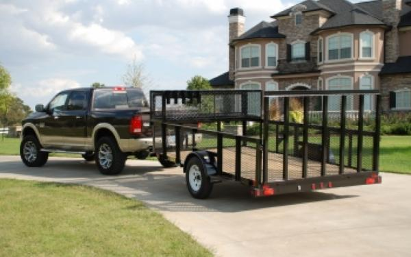 Big Tex 35LS-12' Single Axle Landscape Trailer