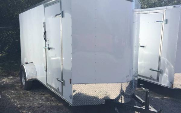 6' x 12' Single Axle Continental Cargo Trailer