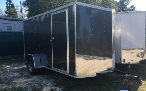 6' x 10' Journey Single Axle Cargo Trailer