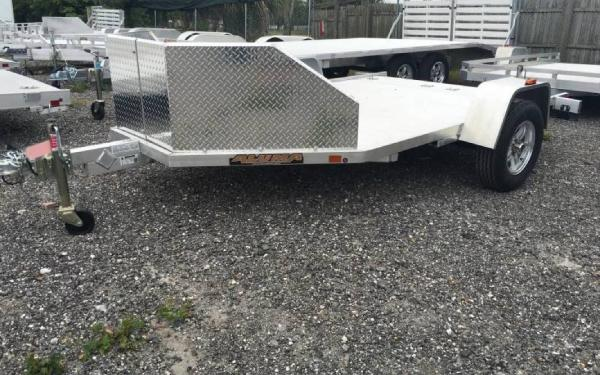"78"" x 12' MC210 Motorcycle Trailer"
