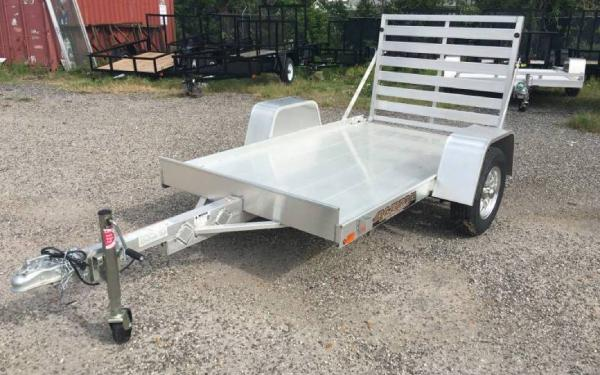 "54"" x 8' Aluma Single Axle Utility Trailer"
