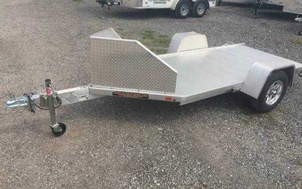 "51"" X 10' Aluminum Motorcycle Trailer"