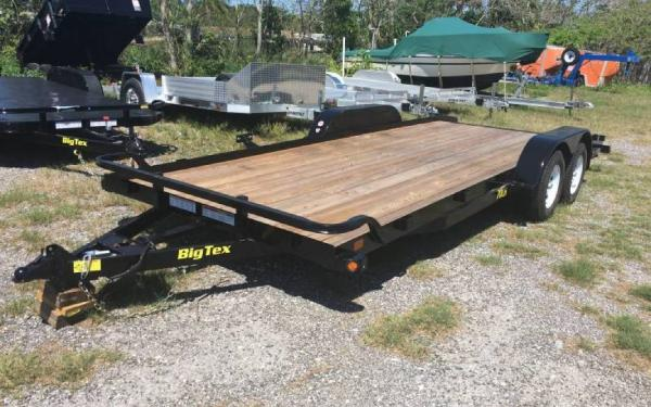7' x 20' Big Tex Tandem Axle Car Hauler Trailer