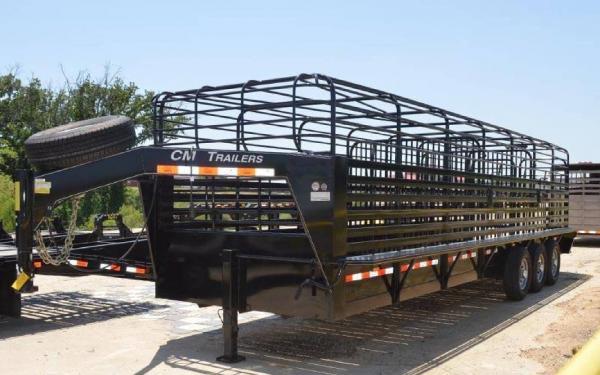 Cm Brush Buster Bt 28 Steel Livestock Trailer Northwest